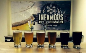 Infamous Brewing Tasting Room Craft Beer Austin Texas