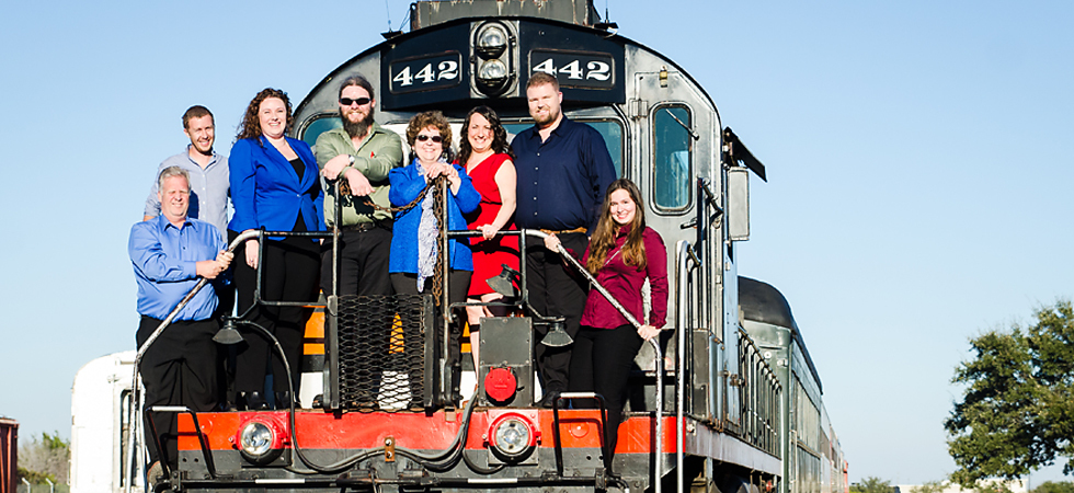 Austin Steam Train Beer Pairing with Bluebonnet Beer Co