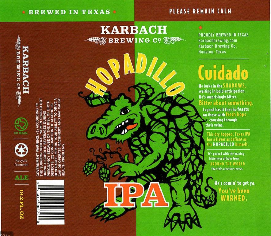 tabc label and brewery approvals february 12 2016