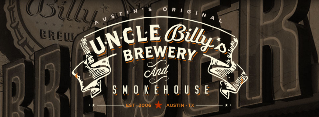 Logo for Uncle Billy's Brewery and Smokehouse