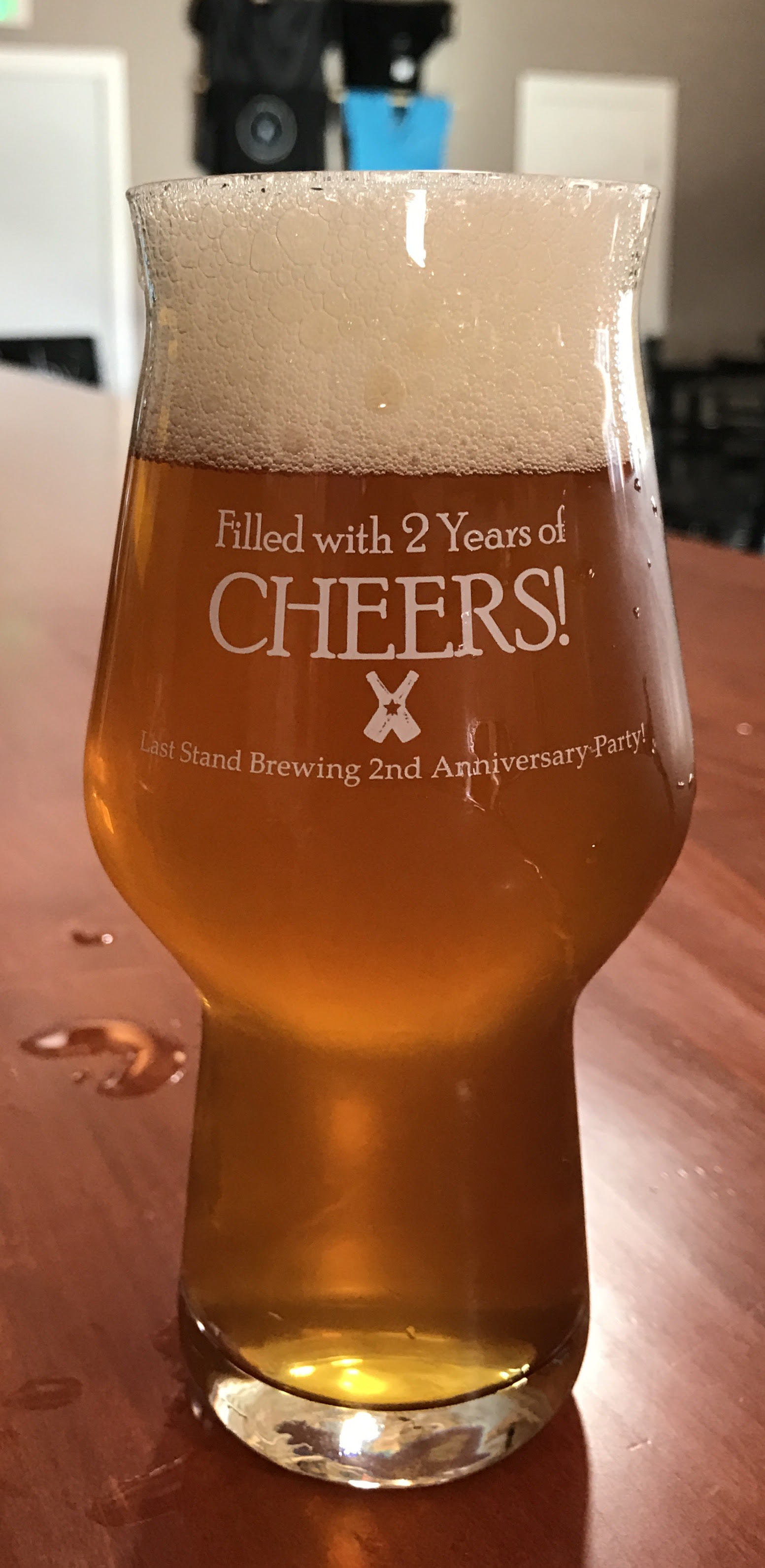 2nd Anniversary Last Stand Brewing