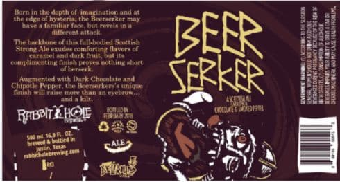 TABC Label and Brewery Approvals March 23 2018