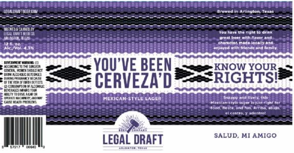 TABC Label and Brewery Approvals Feb 25 2019