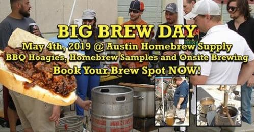 Austin Craft Beer Events April 29th - May 5th