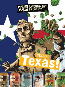 21st Amendment Brewery Launches in Texas June 17, 2019